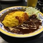 キッチン ニューほしの - マサラとハヤシのあいがけ!1000円