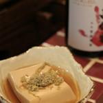日本酒バル きわみ -  おでんのお豆腐。味が染みていました。
