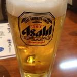 おでん居酒屋 三幸 - 生ビール