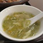 過門香 - あおさとかき玉のスープアップ
