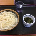 大釜うどん - 釜揚げうどん(*゚∀゚*)270円