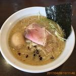 濃厚道場 - 濃厚醤油ラーメン790円