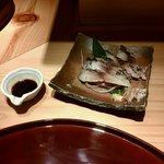 紀州麺処 誉 - 炙りしめ鯖 410円