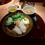 紀州麺処 誉 - 豚骨しょうゆつけ麺 950円