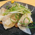 大阪麺哲 - 皿ワンタン