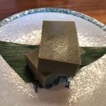 鶴千 - 自家製カニみそ豆腐