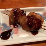 鶴千 - フランス産 フォアグラの串焼き