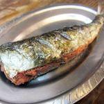 浜焼酒場 魚○ - 鰯明太