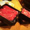 しゃぶ菜 - 料理写真:牛肩ロース肉・牛バラ肉