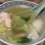 広東御料理 竹香 - 鶏肉がたっぷり