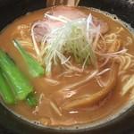 拉麺 阿吽 - 秋刀魚拉麺税込790円
