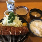 勝味庵本店 - チーズ巻定食税別1600円