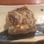 めしの助 - 焼き魚(太刀魚)のアップ