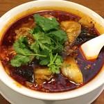 青山麺飯坊 - 麻辣牛肉麺(マーラーニューロウメン)