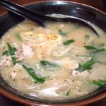 タン担麺 中担 - アホバッカラーメン
