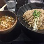 つけ麺 井手 - つけ麺 麺増量 800円