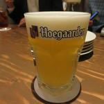 エキベーコン - ヒューガルデンホワイト(ベルギー) 680円(税別)
