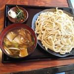 どん太 - 肉汁うどん大盛り800円:2017年1月