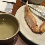 65734855 - 170316木 石川 醍庵 ズワイガニのコンロ焼き実食!