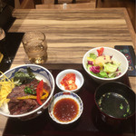 肉匠 太平楽 - 牛サガリ定食