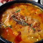 焼肉・韓国料理 ソウル家 - 欲ばりランチセット「海鮮スンドゥブチゲ・焼肉ランチ(生ラム・鶏もも)」1280円税別 ライス、キムチ・サラダ・おかず1品・ドリンク・デザート付き