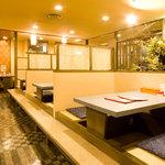 グランド居酒屋富士 - お1人様から気軽にご利用できます。4~30名様の個室も21室ご用意。
