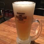 筋肉食堂 - 糖質オフビール500円