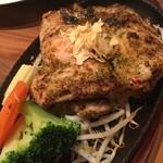 筋肉食堂 - 皮なし鶏もも肉のスタミナガーリック味200g1100円