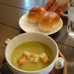 ソガベ西条西洋料理 - ランチスープ