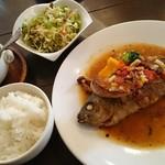ソガベ西条西洋料理 - ランチメイン・お魚