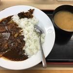 松屋 - ビーフカレー並 / 590円
