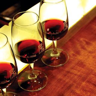 グラスワイン36種~多種多様のワインが楽しめる