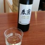 麦舎 - 春鹿純米生原酒