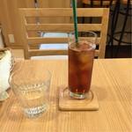 Café Leaf  - 紅茶(アイス)