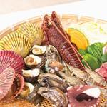 飯台  - ビアガーデン焼き肉+海鮮コース