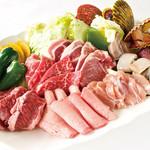 飯台  - ビアガーデン焼き肉コース