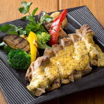 ■若鶏と野菜のマスタードGRILL