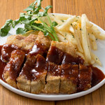 ■牛肩ロースのパン粉焼き BBQ GRILL