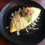 Pダイニング - 日の菜入り玉子の醤油マヨネーズオムライス