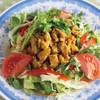レモングラス風味の鶏肉のピリ辛サラダ