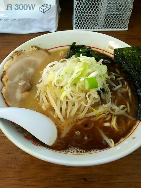 松福 本店 - 黒ラーメン¥700
