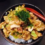 汁なし担担麺専門 キング軒 - 不思議な広島ごはんw