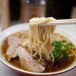 北京屋 - 北京屋 ラーメンの麺