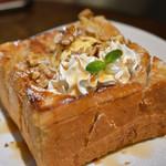 珈琲豆屋 Nanの木 - 料理写真:メープルくるみフレンチトースト☆