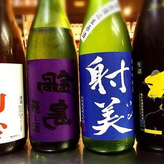 こだわり抜いた日本酒