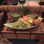 観山聴月 - 料理写真:前菜
