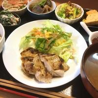 串工房 ちkiちki - メイン+お好きなお惣菜5種