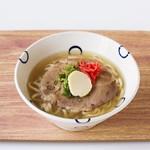島豆腐と、おそば。真打田仲そば - 料理写真: