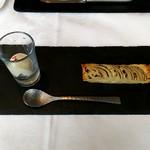 ラ・ブランシュ - いつもの玉ねぎのタルトとアイス