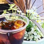 マツオノウエン プラス コーヒー - ドリンク写真:夏は水出しコーヒーもあります(^ ^)
